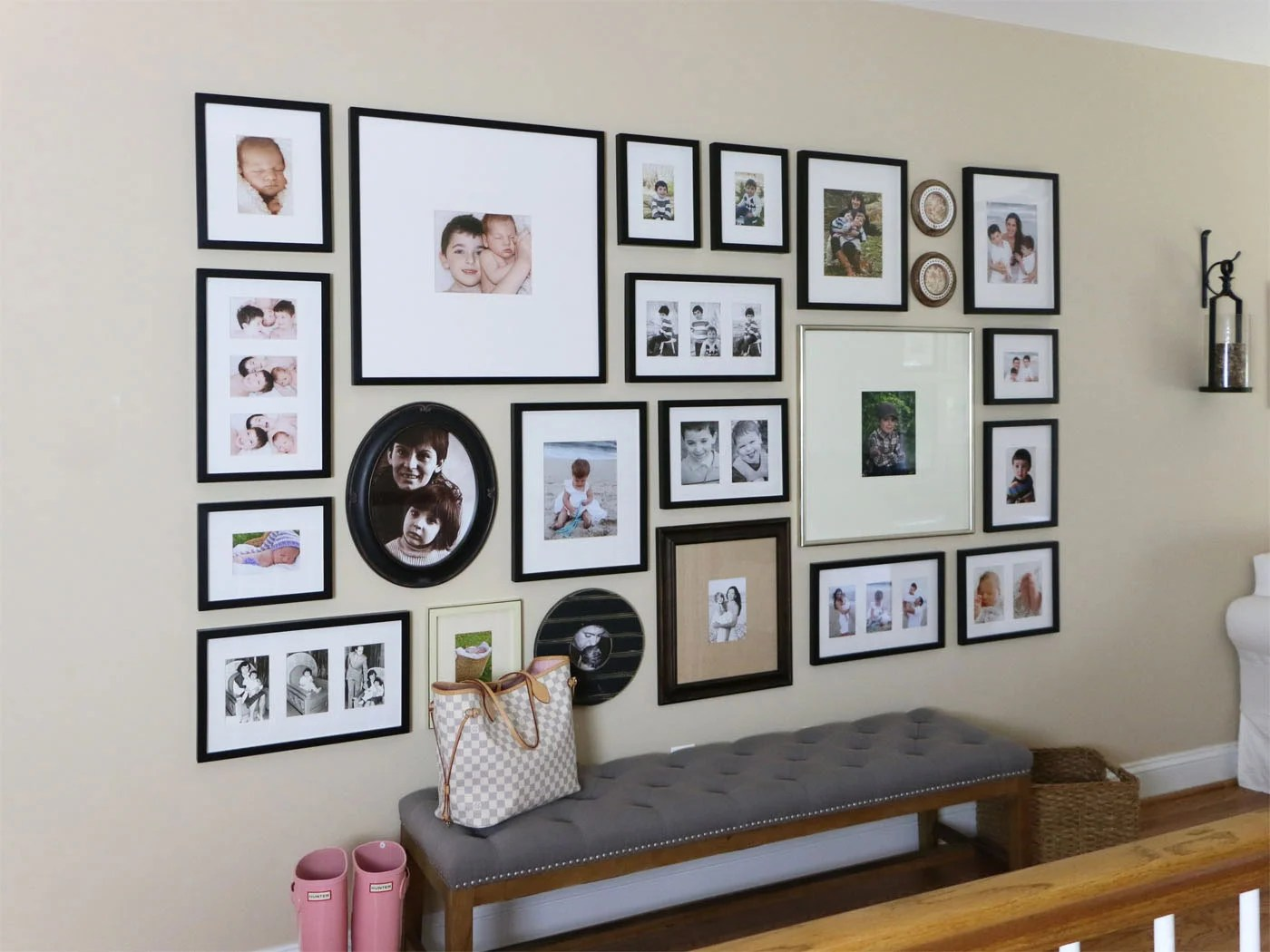 How To Create a Gallery Wall – Tips and Tricks