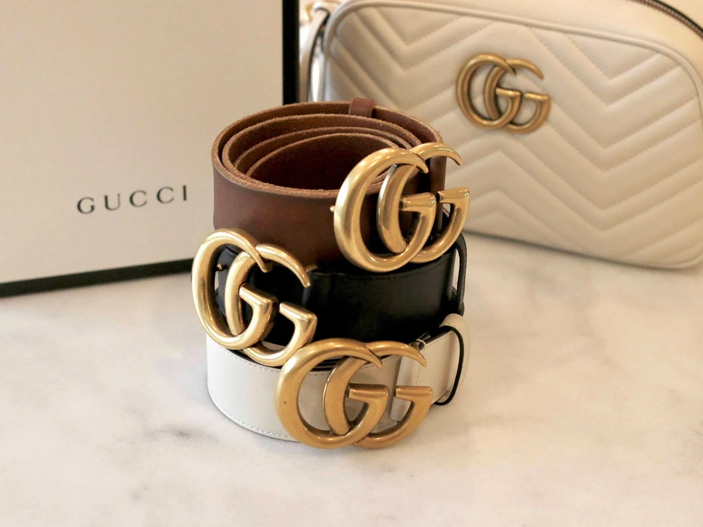 76d880caa74 Gucci Marmont Belt - Sizing and Adding More Holes