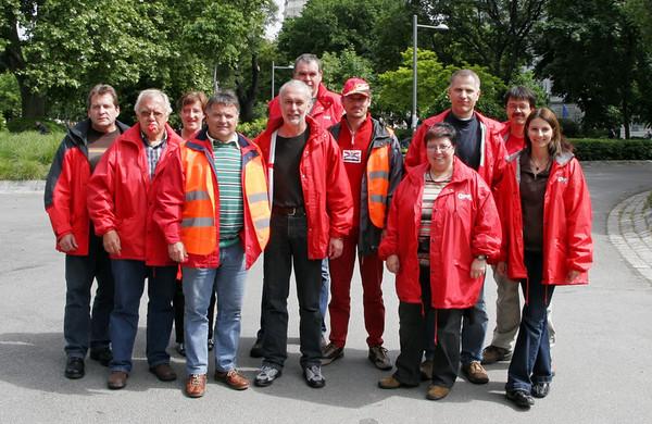 Ortmanner Betriebsräte und Gewerkschaftsvertreter