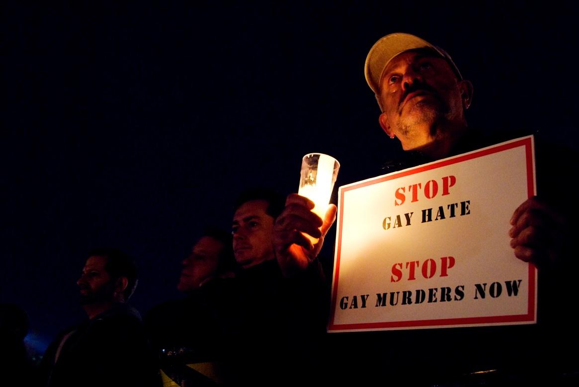 Anti-hate crime vigil, Trafalgar Square