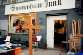 Antique shop called Shoreditch Junk