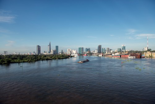 Ho Chi Minh City Skyline II