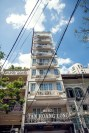 Typical tall, thin apartment block in District 1, Ho Chi Minh City