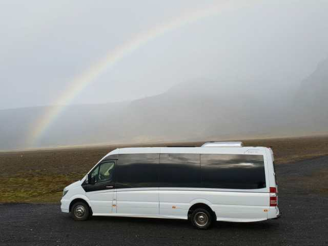 Mercedes Benz private tours in Iceland