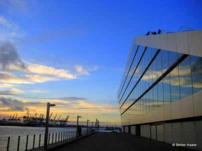 Dockland at sunset I