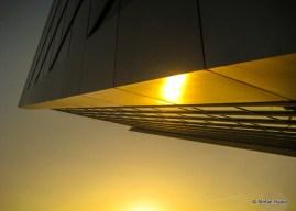 Sun reflection Dockland Building (K)