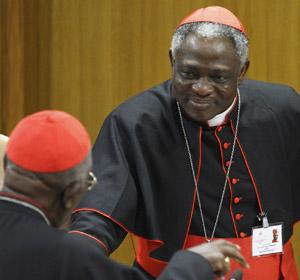 Cardinal Turkson  copyright CNS