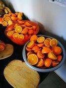 Fresh fruits and vitamins