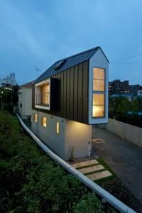 Casa japoneza construita pe 52 mp