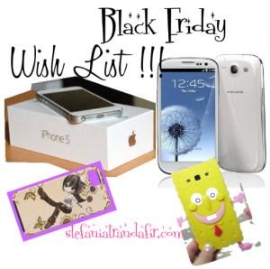 Black Friday Reduceri – My Wish List – iPhone 5 vs Samsung Galaxy S3