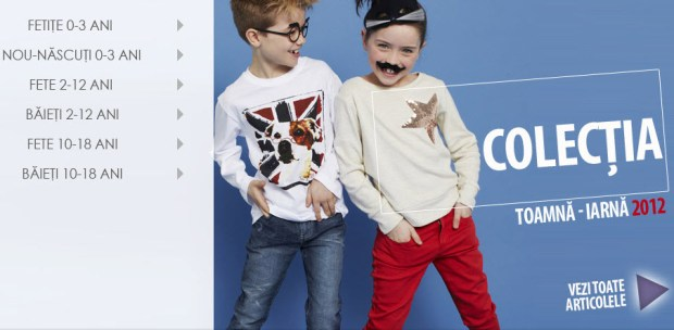 colectia toamna iarna haine copii