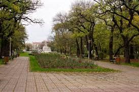 central park in Timisoara