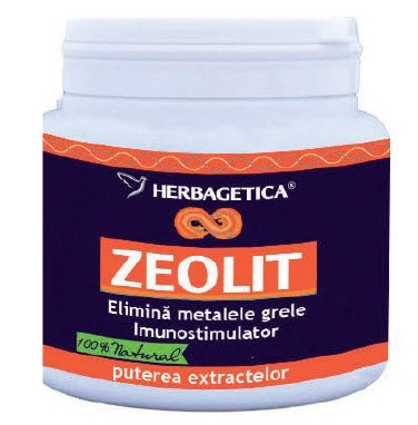 250 capsule zeolit de la Herbagetica
