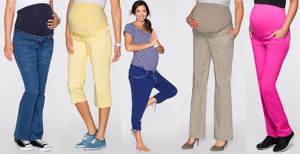 pantaloni femei insarcinate