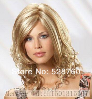 peruca blonda