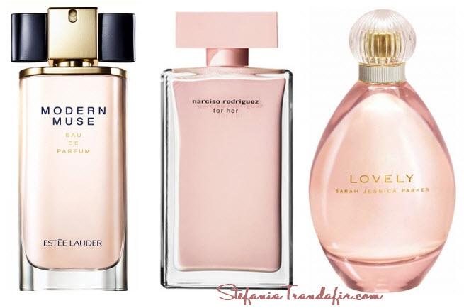 Prafumul Modern Muse Estée Lauder comparatie cu alte parfumuri