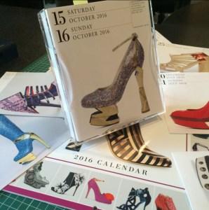 Calendar 365 Days of Shoes 2016 – pantofi Mihai Albu