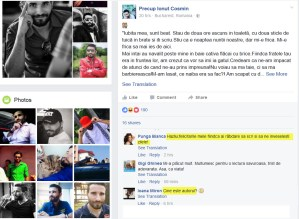 Copy paste-ul de pe facebook - discutie interesanta cu Precup Ionut Cosmin