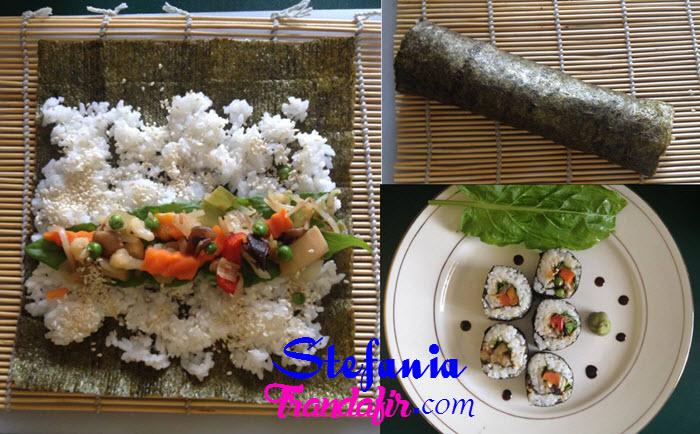 reteta sushi cu vegetale