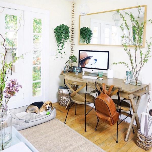 zona de birou in spatii mici