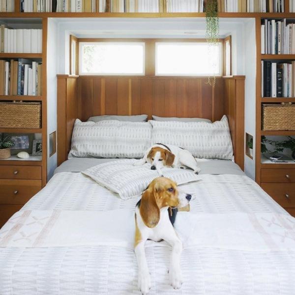 zona de dormit spatii mici
