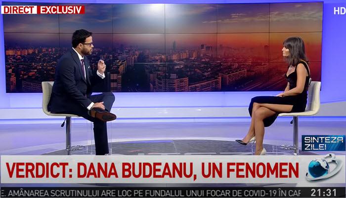 Dana Budeanu la Antena 3 Gadea a castigat audienta, Dana a pierdut sute de abonati