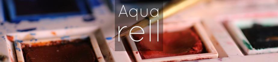Aquarell: Erste Gehversuche