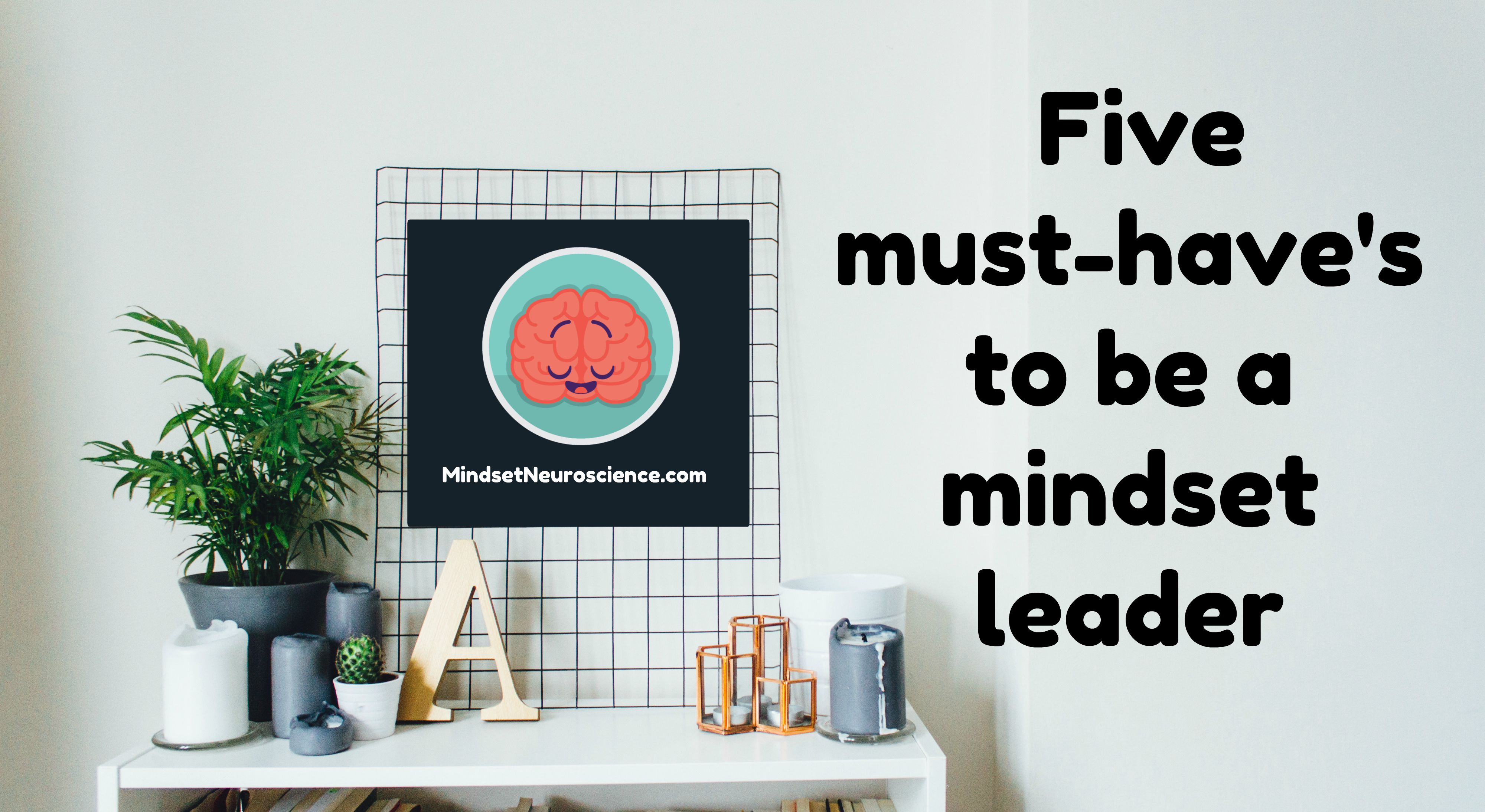 five must-haves to be a mindset leader