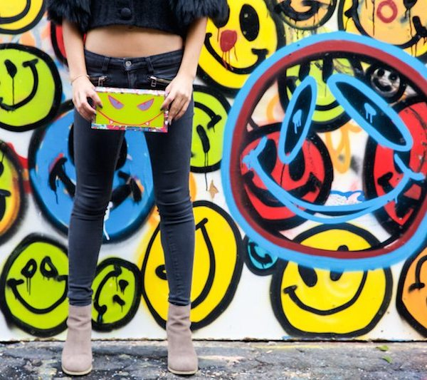 Life Of The Party Neon Monster Bag
