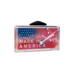 Made In America Graffiti Bag Acrylic Clutch