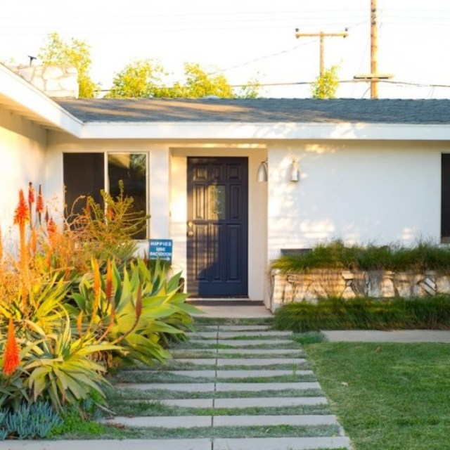 """One of my favorite books is, Case Study Houses, by Taschen. It was an architect's bible in the '50s, documenting 36 case study prototype homes in the L.A. area. Number 22 is my favorite. I love midcentury modern design."""