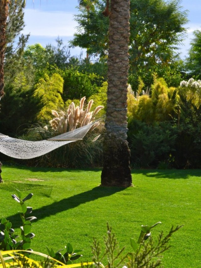 After the spa, pool, bar and croquet court, The Parker knows a good nap in a hammock is just what you need.