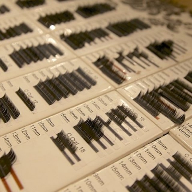 Technicians have more than 100 different lashes to choose from when creating your unique set at Lashfully