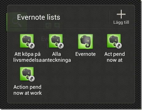 evernote in android