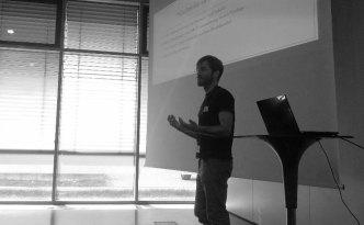 Mein Vortrag am Barcamp Digital. (c) Sophie Li (TW:@soliphie)