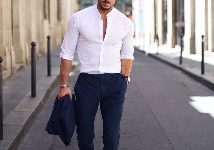 la camicia bianca è sexy