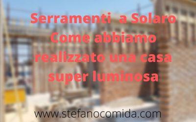 Serramenti Solaro: Casa luminosa con le nuove finestre in alluminio