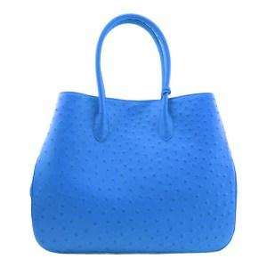 Ostrich Bag Blue