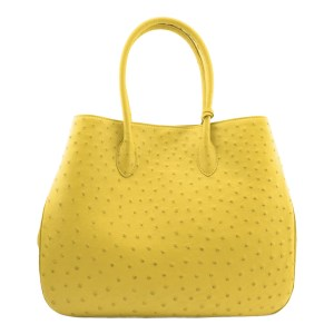 Ostrich Bag Yellow