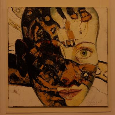 »Kopf« von Christine Schlegel (Klick vergrößert).