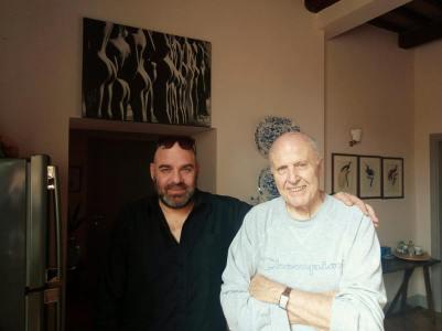 A casa di Giampaolo Lomi, Foligno, 2018