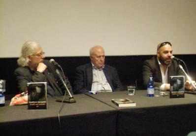 Con Franco Grattarola e Giampaolo Lomi, Sala Trevi, Roma, 2014