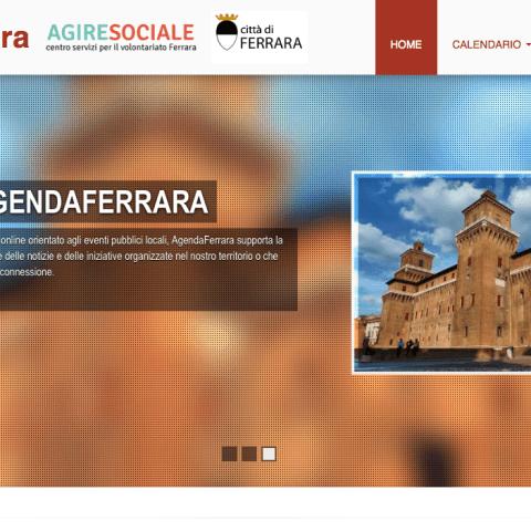 AgendaFerrara - Calendar CMS and iCal aggregator