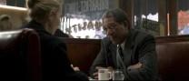 Gwyneth Paltrow e Morgan Freeman in Seven