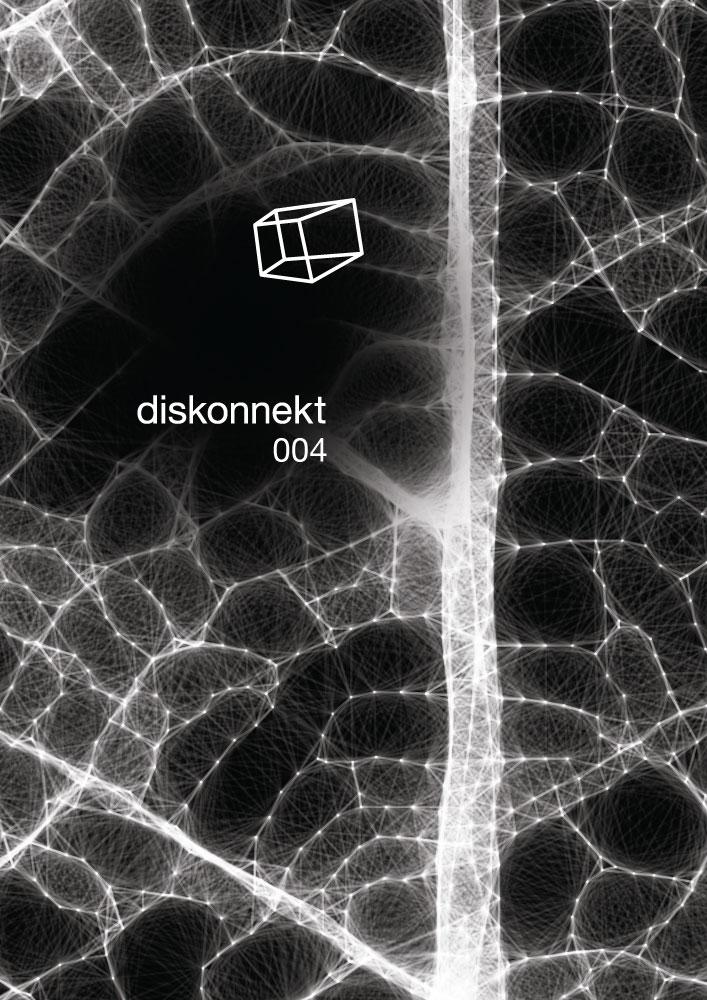 diskonnekt 004 poster and flyer - front