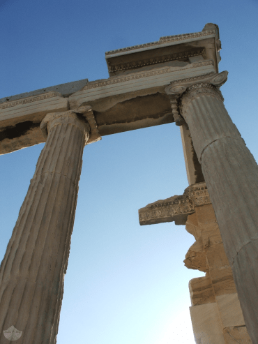 Pillars of the Acropolis of Athens