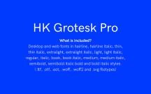 HK Grotesk Pro