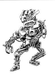 junk robot