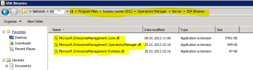 SCOM 2012 – Install SCOM PowerShell Modules Without SCOM