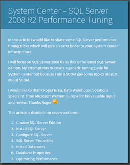 Sql Server 2008 Performance Tuning Pdf